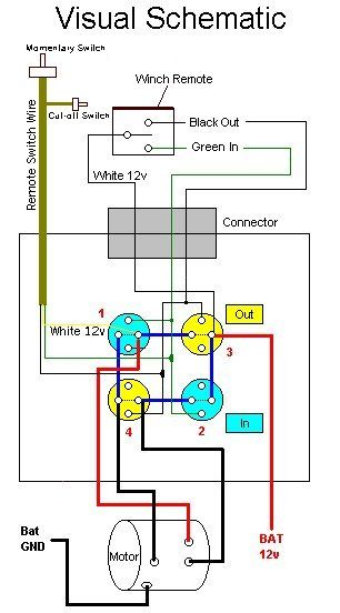 Winch Wireing : winch, wireing, Wired, Winch, Winch,, Solenoid