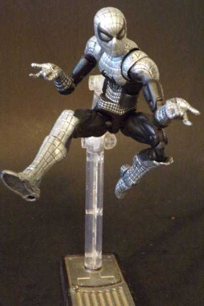 Spiderman (Spider Armor) (Marvel Legends) Custom Action Figure ...