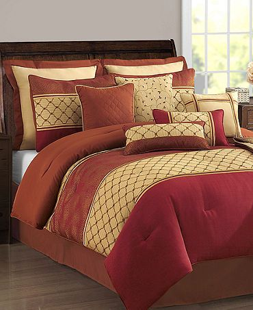 Red And Yellow Bedding Full Comforter Sets Comforter