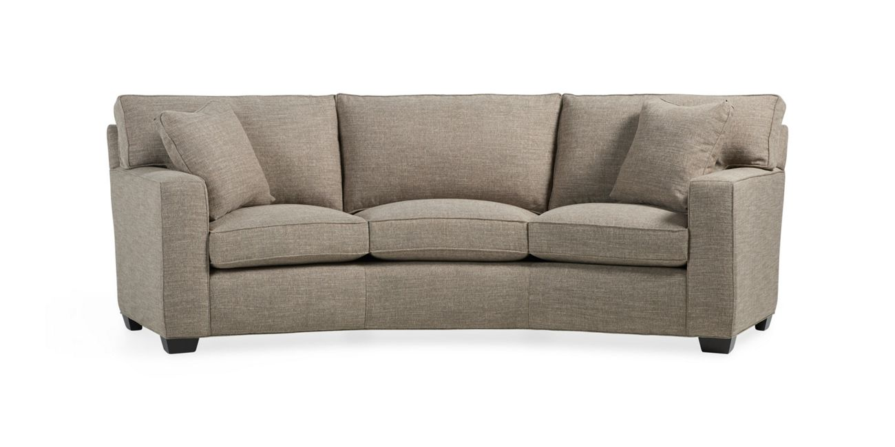 Bwood Square Wedge Sofa Arhaus Furniture Living Room