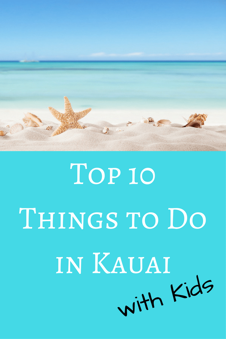 Hawaii Things To Do Kids Kaui