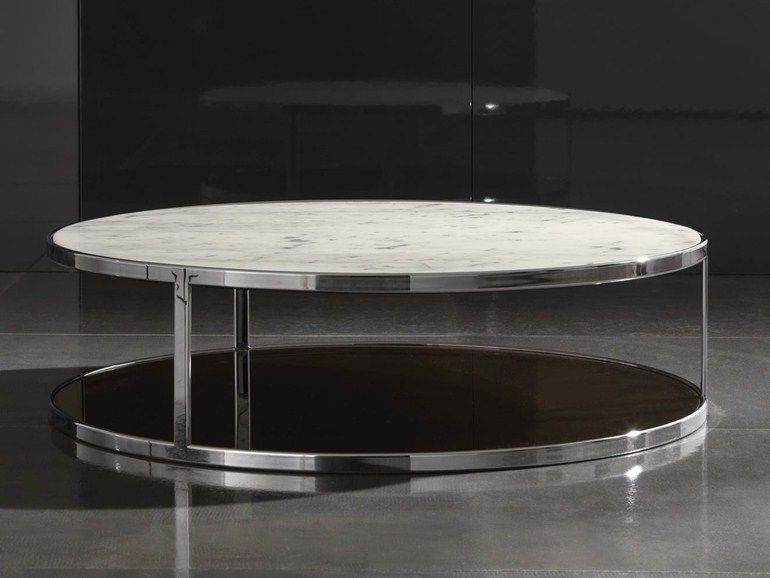LOW RECTANGULAR MARBLE COFFEE TABLE FOR LIVING ROOM NORD   ERBA ...