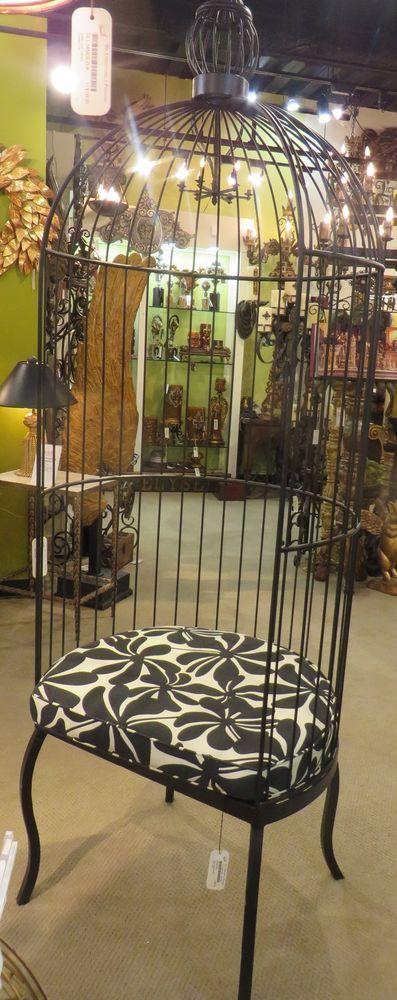 Details About Romantic Victorian Cottage Birdcage Chair