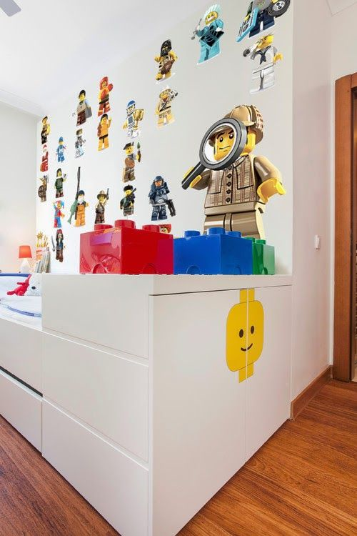 Charmant Kid Room Idea · Lego WallLego ...