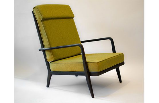 Dering Hall Mid Century High Back lounge