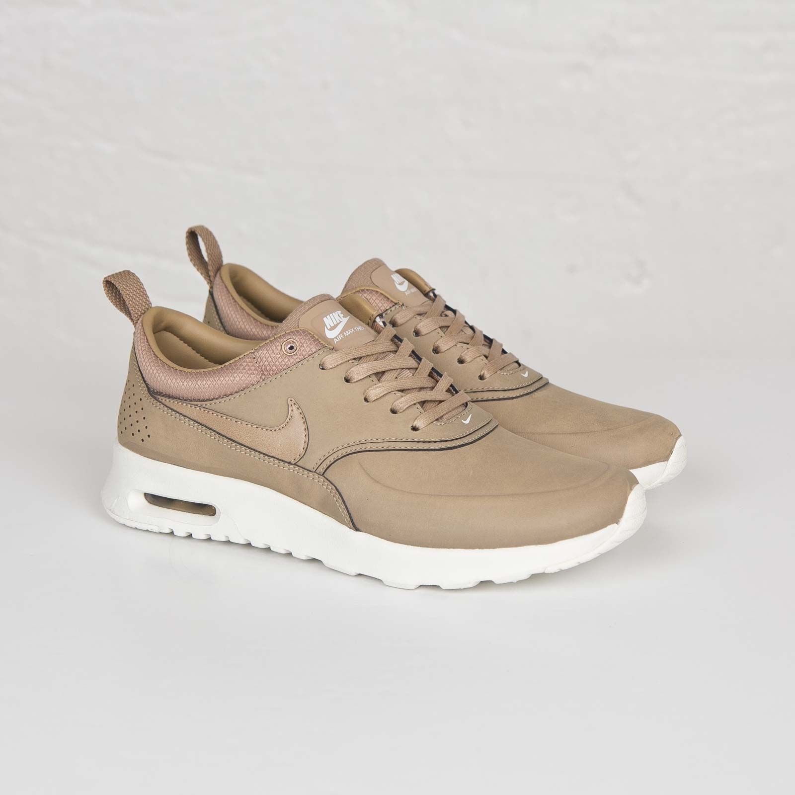 Nike Air Max Thea discounts Womens Mens Brown Desert Official Leather Piemium
