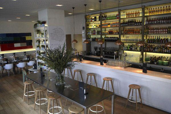Lateral Castellana 42 Diseño De Interiores Del Restaurante Diseño De Interiores Decoracion Restaurantes