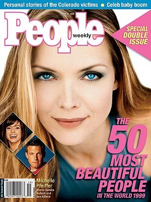 photo | Fabulous Over Forty, Michelle Pfeiffer Cover, Most Beautiful on Covers, Ben Affleck, Michelle Pfeiffer, Sandra Bullock