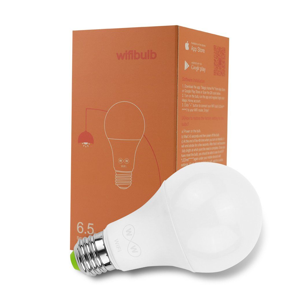 Magiclight Wifi Smart Light Bulb Tunable Soft White To