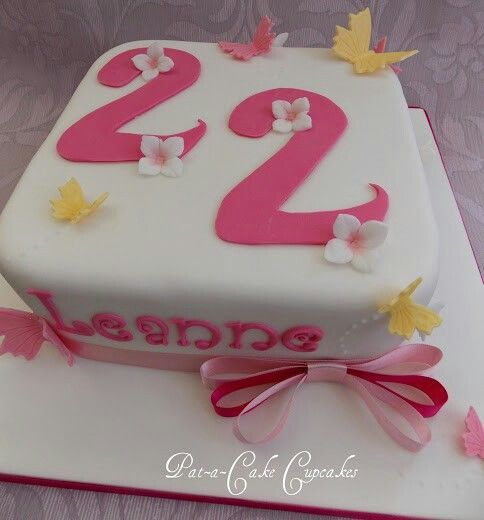 Image result for 22nd birthday cake Celebration Cakes Pinterest