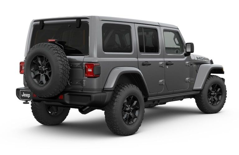 New 2019 Jeep Wrangler Unlimited Moab 4x4 Fort Worth Tx