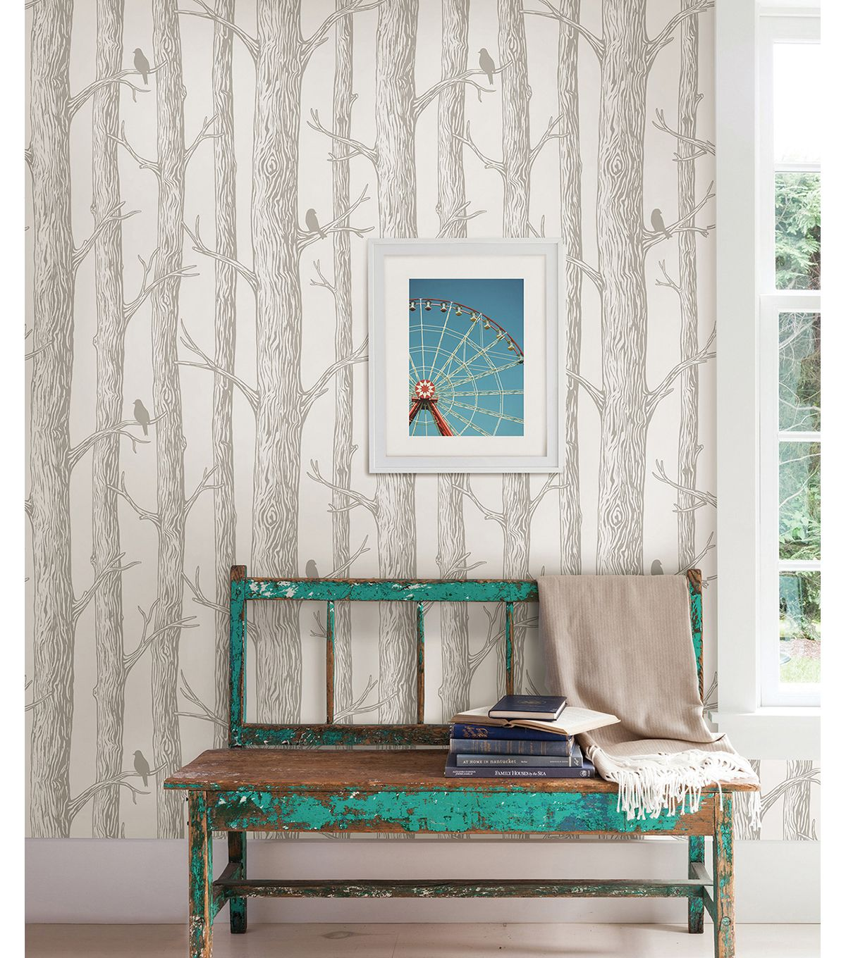 Wallpops Nuwallpaper The Forest Peel And Stick Wallpapernull Home Wallpaper Peel And Stick Wallpaper Home Decor