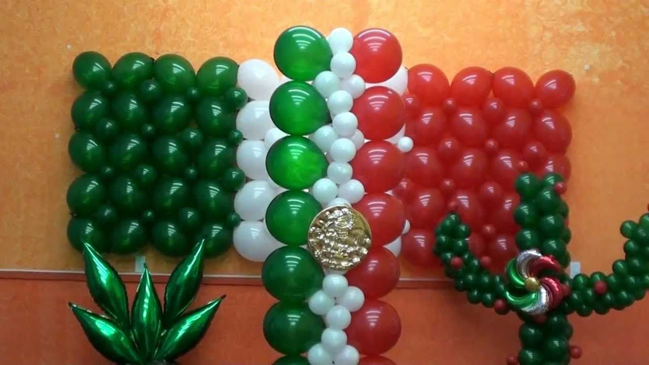 Te compartimos estas is ideas de #decoración con globos para tu ...