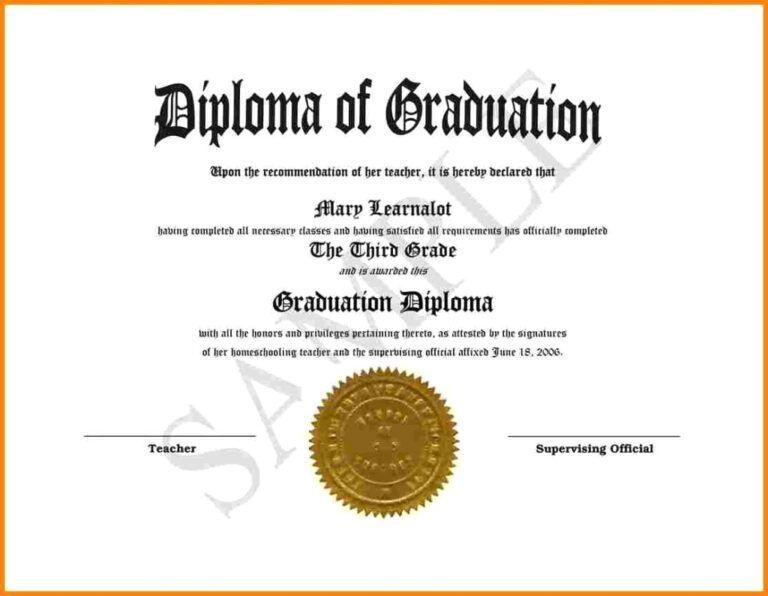Printable Graduation Certificates Tunu.redmini.co in