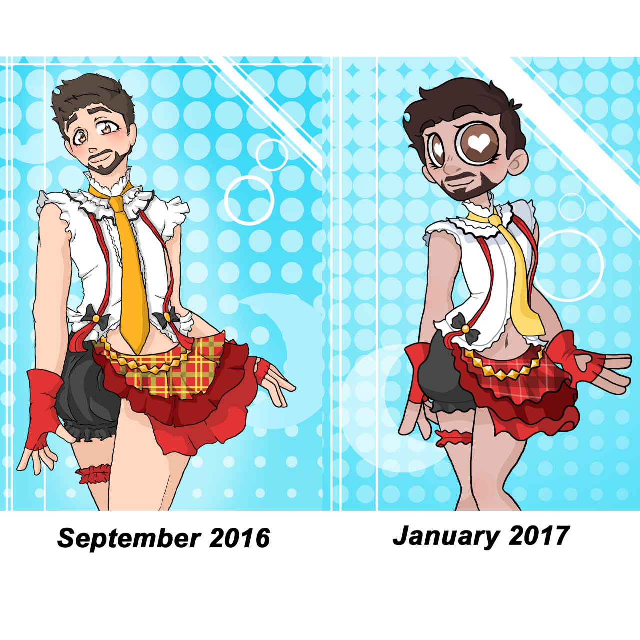 """ask-hydracap-and-tony: """" This used to be a crossdressing Tony ..."""