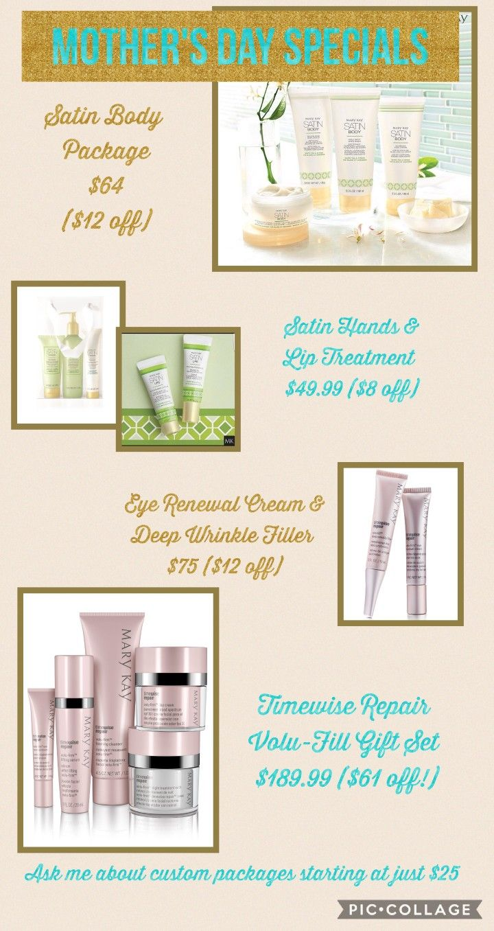 Mother's Day Packages 2018 | Mary Kay by Carrie | Pinterest | Mary