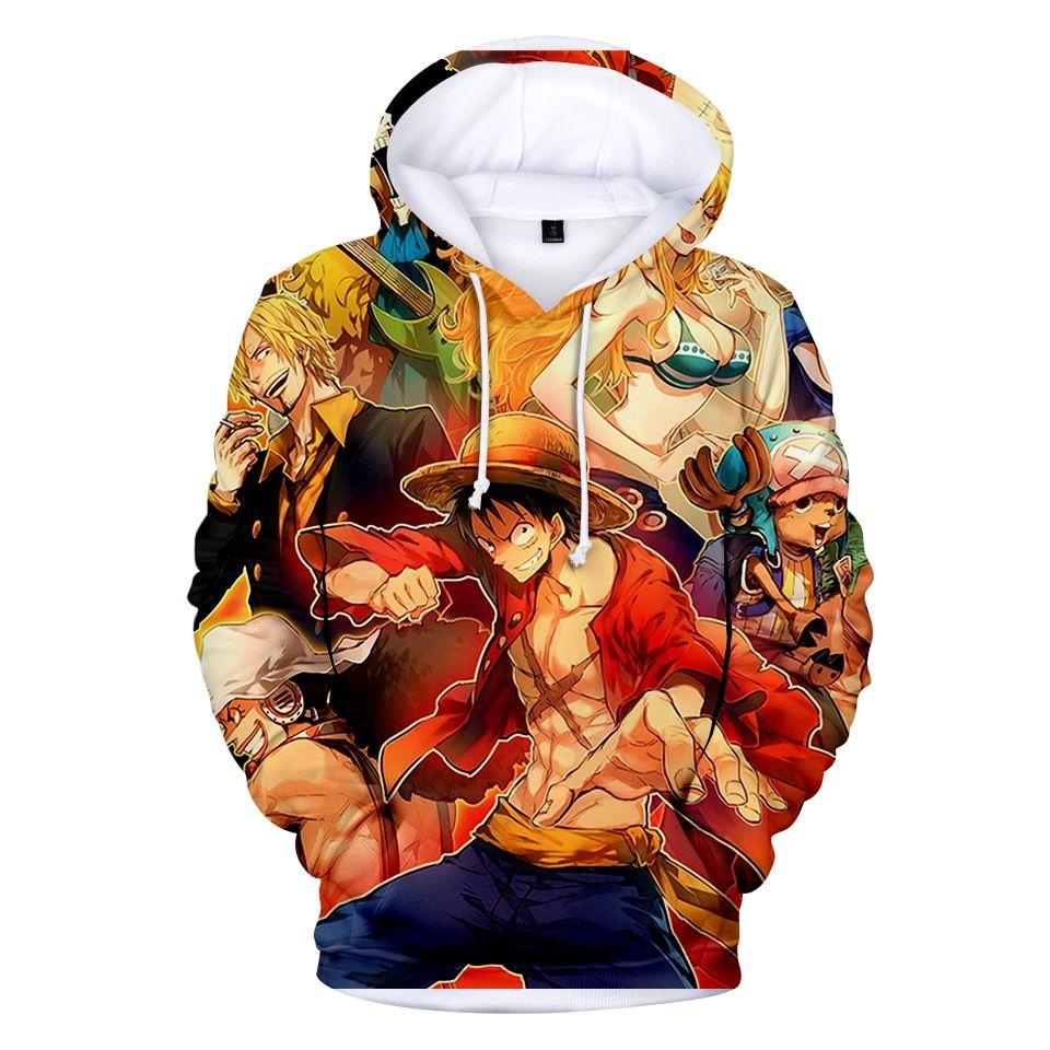 One piece 3d hoodie 10 varian anime hoodie hoodies
