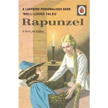 Personalised Rapunzel Book