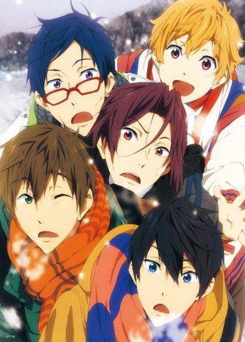 Anime Free! Iwatobi Swim Club - High Grade Laminated Poster