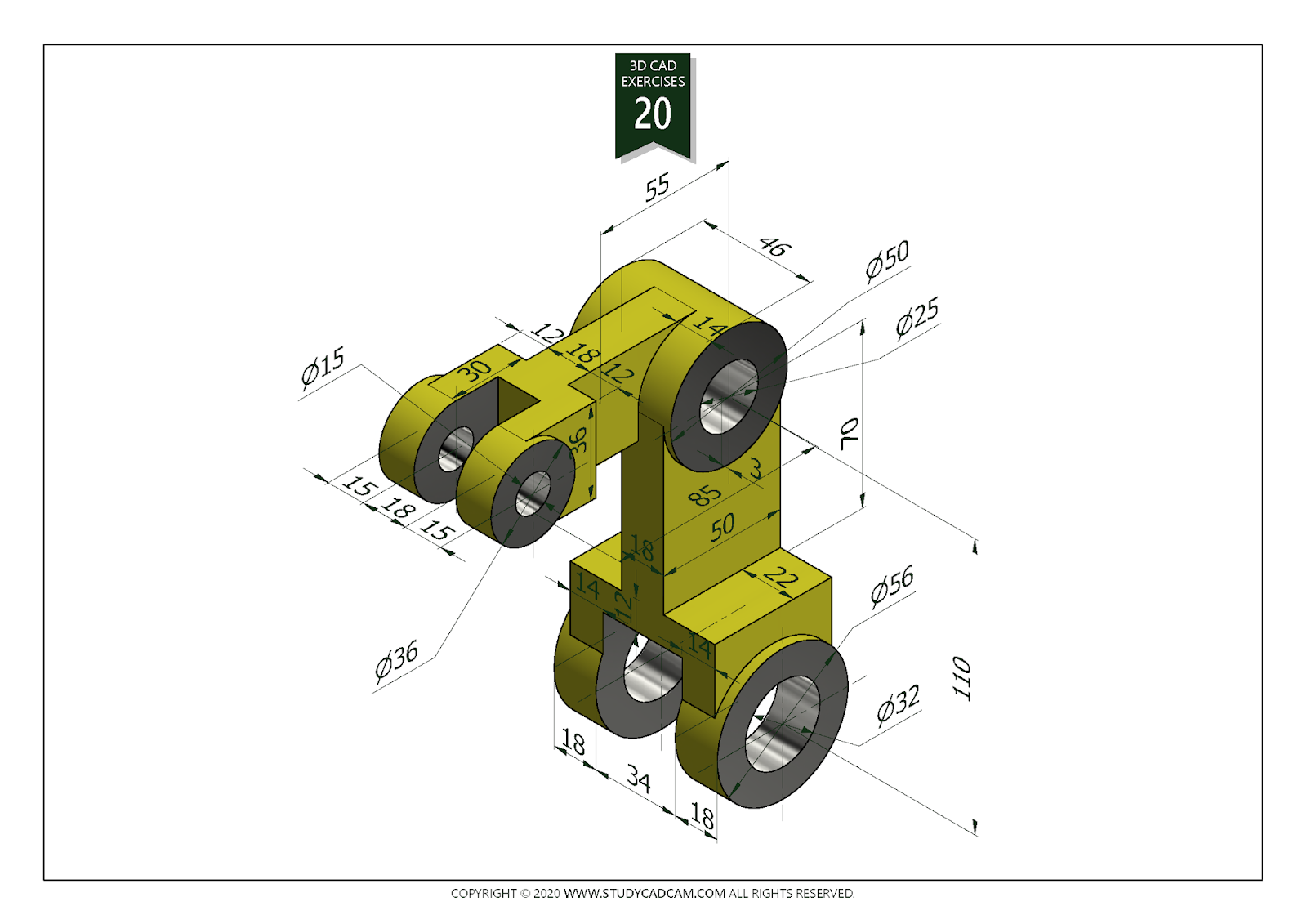 Pin On Autocad Solidworks Blender Practice Images