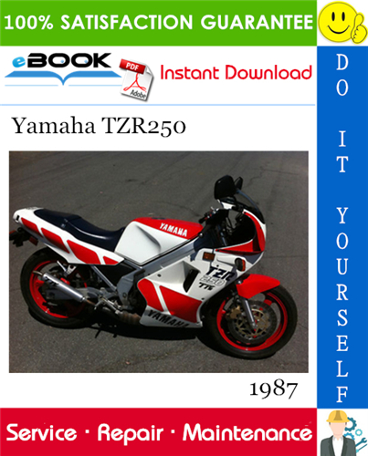 1987 Yamaha Tzr250 Motorcycle Service Repair Manual In 2020 Repair Manuals Yamaha Repair