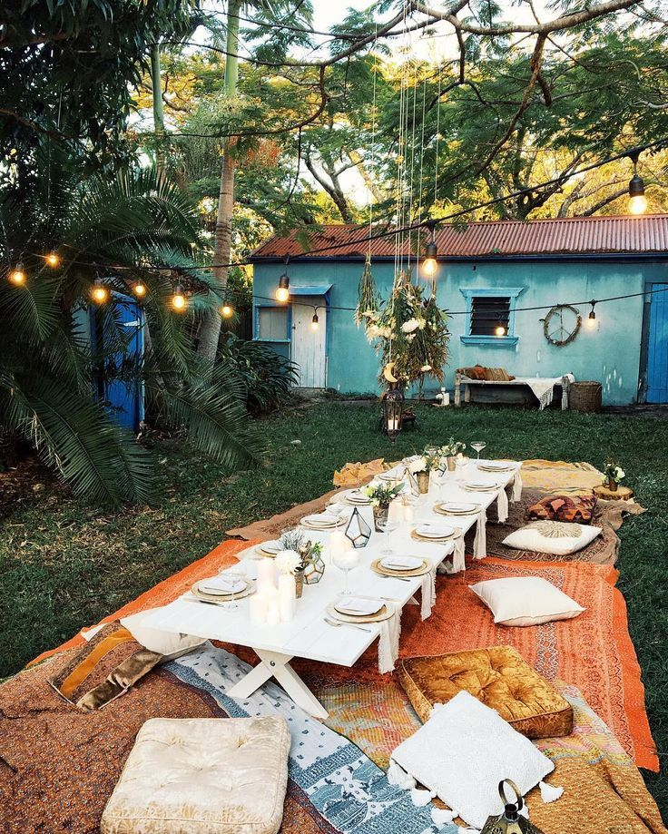 Oh My Gosh Just Arrived Our DIY Bohemian Dinner Party Created A Fairy Wonderland I Cant Believe This Stunning Set Up Post Coming To
