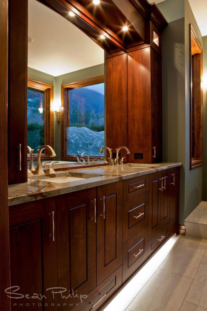 Custom Bathroom by South Shore Cabinetry, Vancouver Island, BC #customcabinetry #bathroom #interiordesign