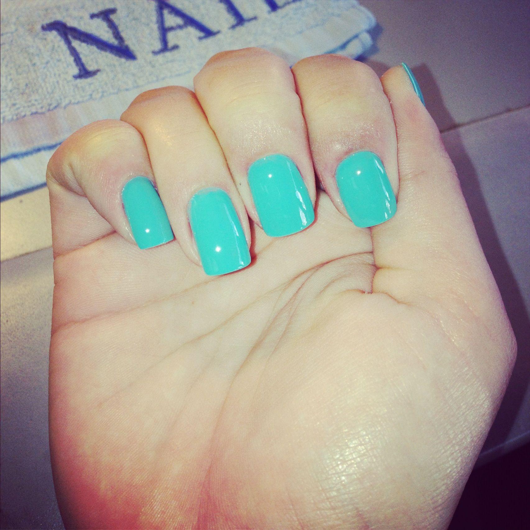 Fabulous color by Essie !! Aqua nails | Aqua green | Pinterest