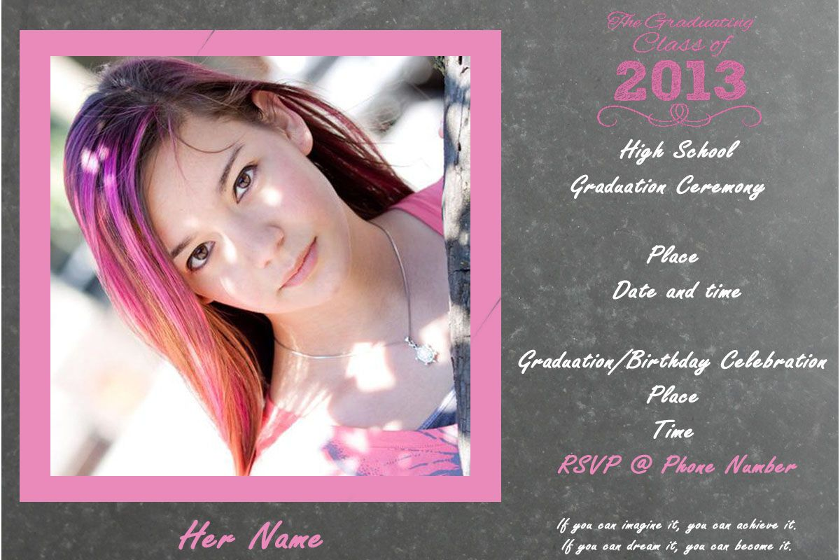 How to make cheap graduation announcements pinterest cheap how to make cheap graduation announcements filmwisefo