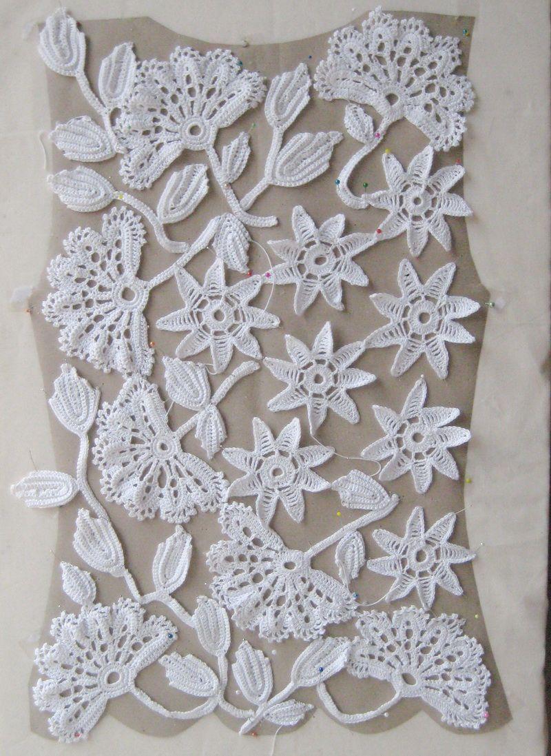 Irish Crochet for Beginners | 800px #irishlace