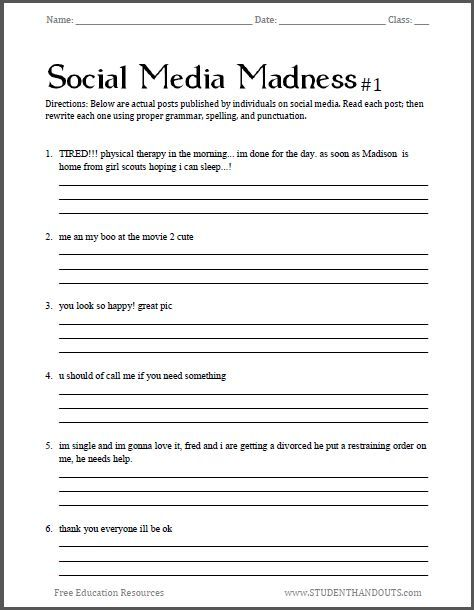 The social media in education english language essay
