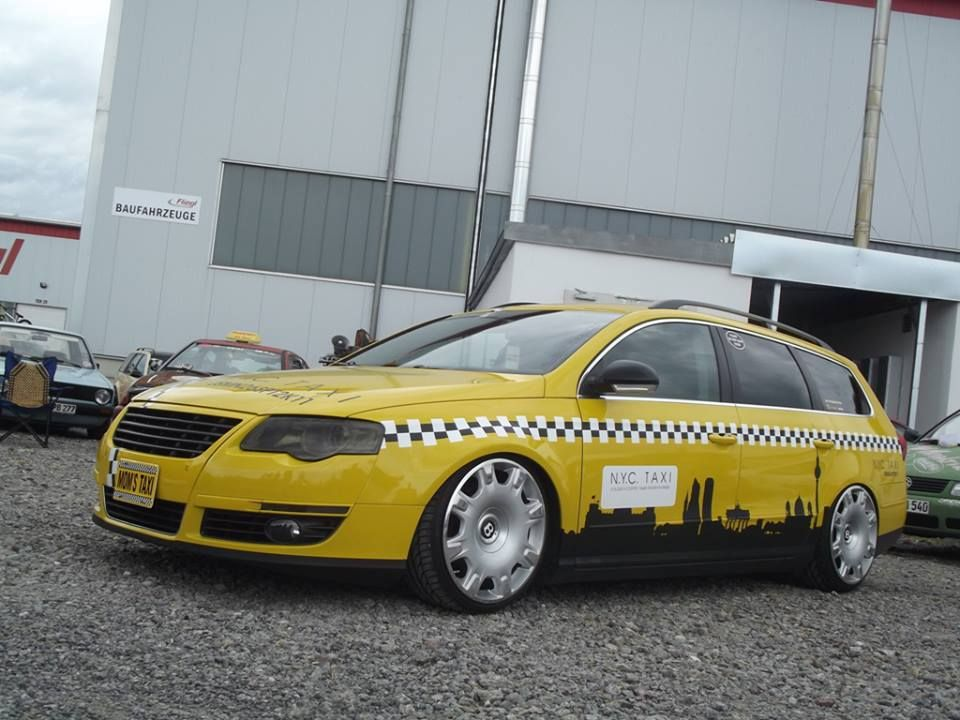 the coolest vw b6 passat wagon taxi out there vw and. Black Bedroom Furniture Sets. Home Design Ideas