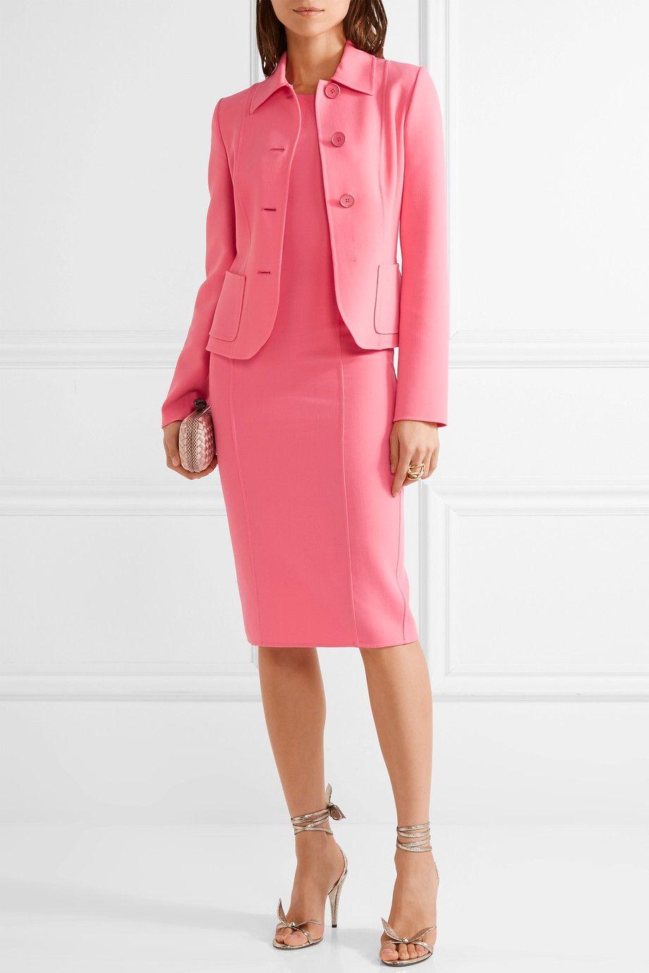 Michael Kors Collection | Stretch-wool dress | NET-A-PORTER.COM ...