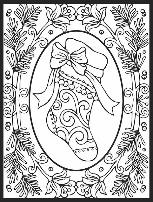 Very Good Christmas Coloring Pages For Adults Free - Best - best of fun coloring pages for fall