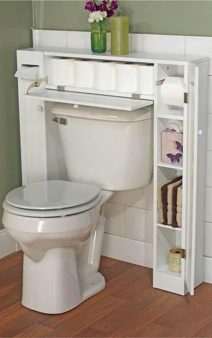 Tips para aprovechar el espacio en baños pequeños Baño pequeño - decoracion baos pequeos