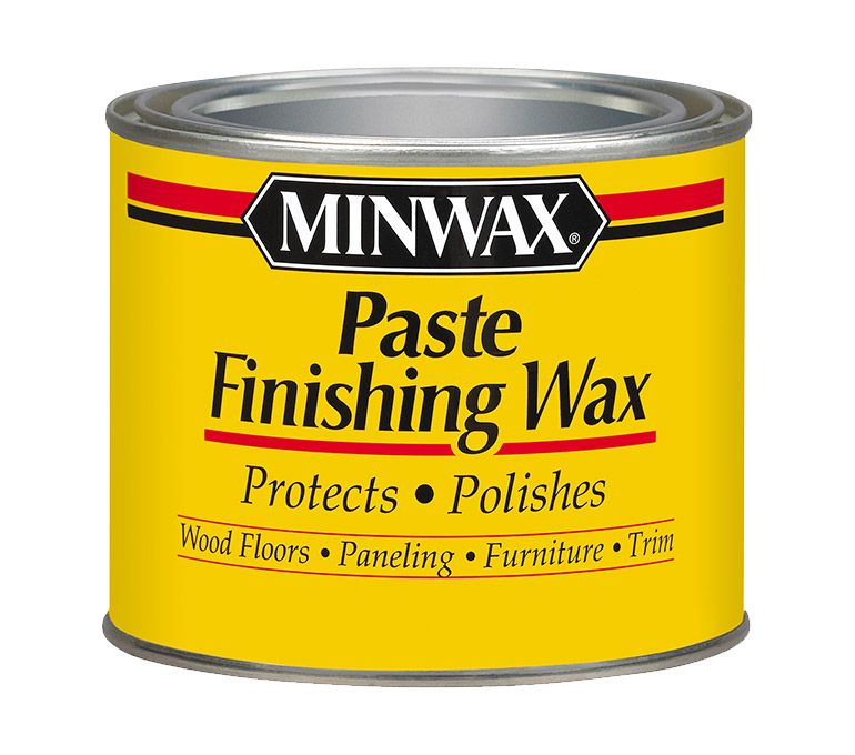 Minwax® Paste Finishing Wax - finish for wooden box succulent planter  exterior. Boiled linseed