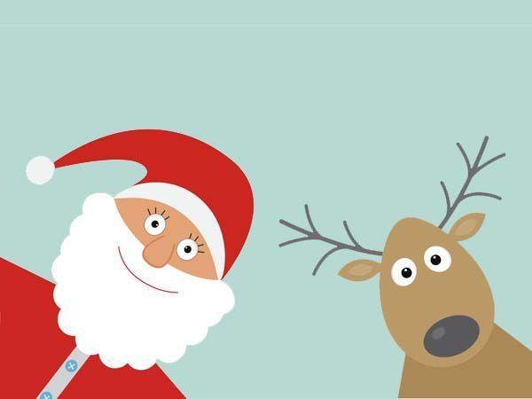 20 cartes de Noël à imprimer (1) | Cartes de noël à imprimer