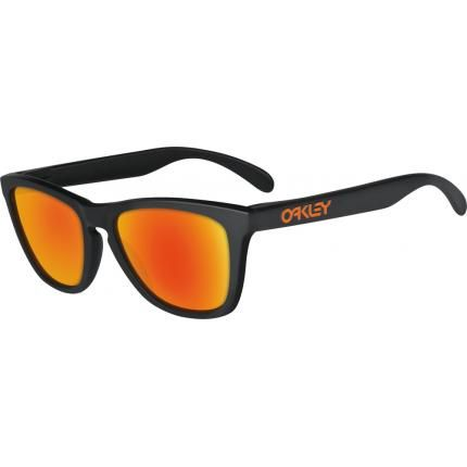 9049ee0541 Had a pair of these in the late 80's early 90's Oakley Frogskins Matte  Black Sunglasses