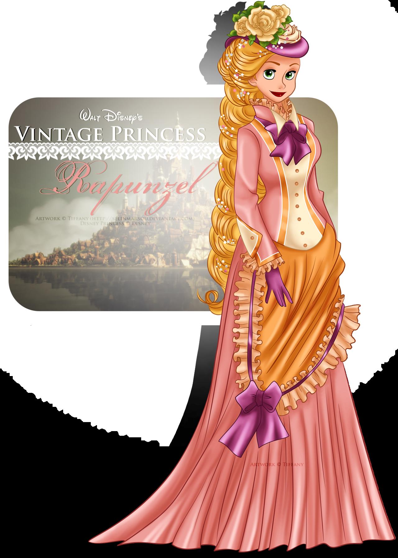 Vintage Princess -Rapunzel by selinmarsou.deviantart.com on @deviantART