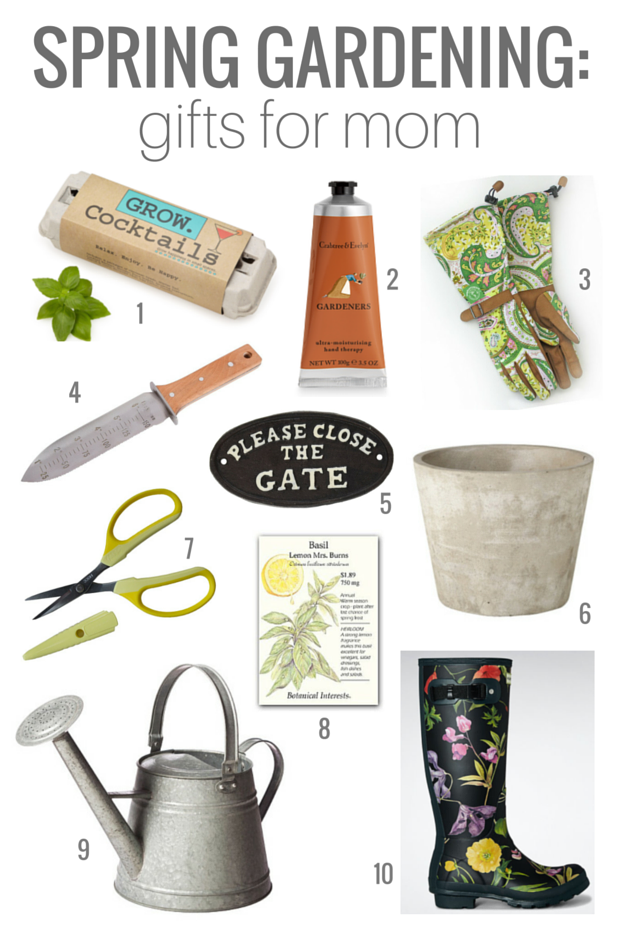 Spring Gardening Gifts for Mom Gardening gifts for mom