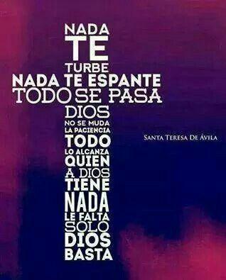 Santa Teresa de Avila Amen