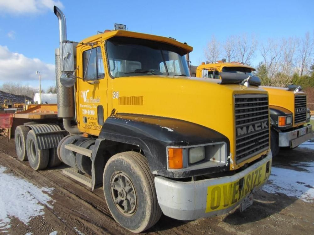 1990 Mack Tractor ONLINE ONLY AUCTION Ending March 16