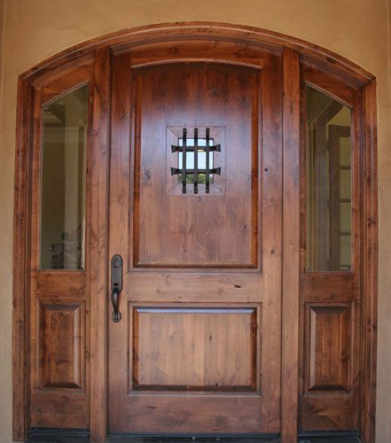 Awesome Knotty Alder Exterior Doors Pictures - Amazing House ...