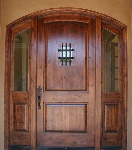 Good EntrySystem 03_KnottyAlder EE 06 (441×500). Wood DoorsEntry DoorsFront  DoorsEntrywayRustic EntryKnotty AlderHouse ...