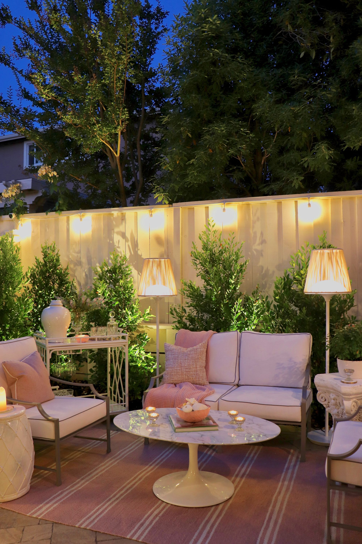 Restoration Hardware Outdoor Furniture Review Kristy Wicks Backyard Patio Designs Backyard Backyard Patio