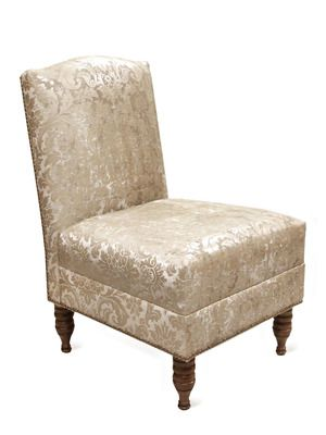 Nail Button Armless Chair By Platinum Collection By SF Designs On Gilt Home  $395