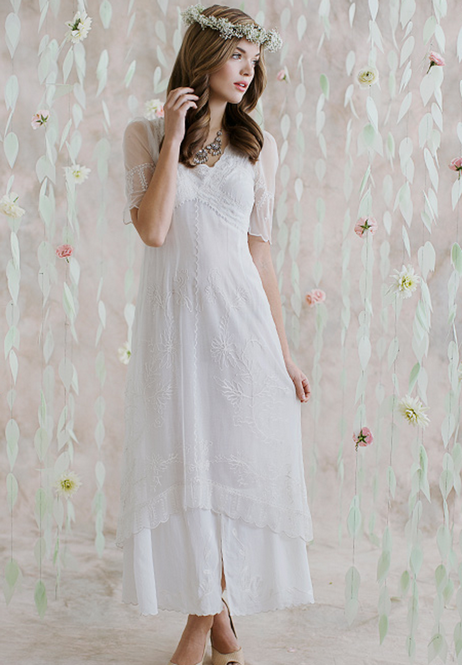 Ruche: Vintage Inspired Wedding Dresses For Your Second Marriage ...