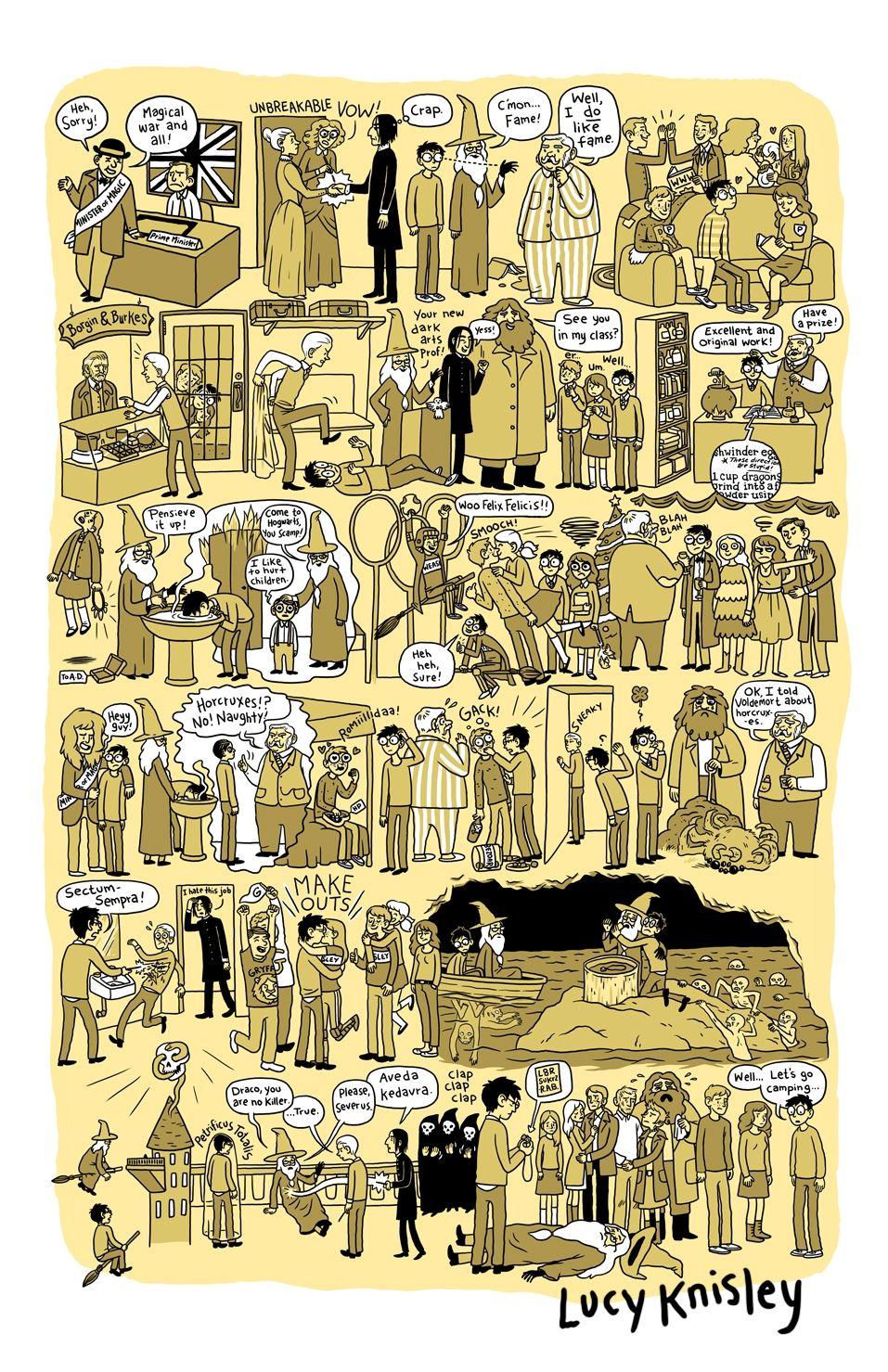 Alle Harry Potter Bande Als Comic Zusammengefasst Was Is Hier Eigentlich Los Harry Potter 6 Harry Potter Comics Harry Potter Bucher