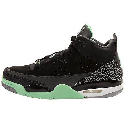 the best attitude dffde 0450d Nike Jordan Son Of Low Mens 580603-030 Black Green Glow Mars Shoes Size 11.5