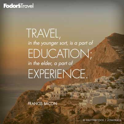 Travel Quote of the Week: On Education | Travel quotes ...